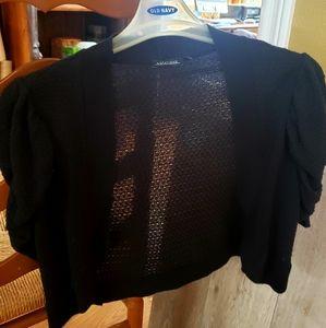 Women's Black Cardigan/ Sweater Top
